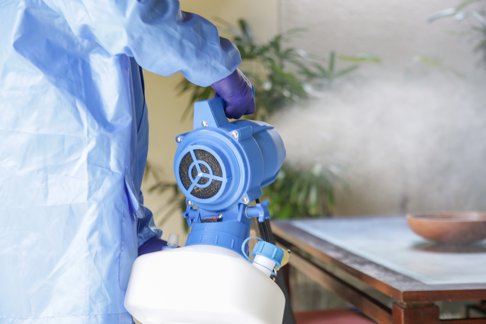 Our Guide to Disinfectant Fogging - What is Fogging?