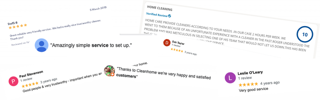 Cleanhome Sussex Review Banner